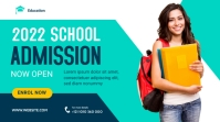 School Admission Banner Template Twitter Post