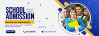 School Admission Facebook Cover Photo template