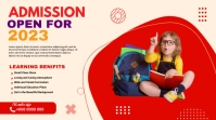 School admission Digital post template