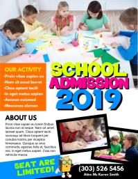 School Admission Flyer