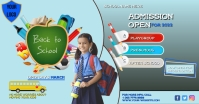 SCHOOL ADMISSION FLYER TEMPLATE Facebook Shared Image