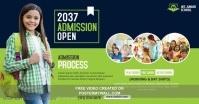 School Admission Open Gambar Bersama Facebook template