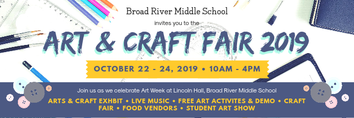 School Arts and Crafts Fair Banner