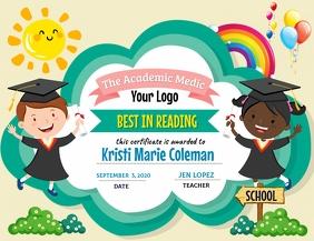 School Award Рекламная листовка (US Letter) template