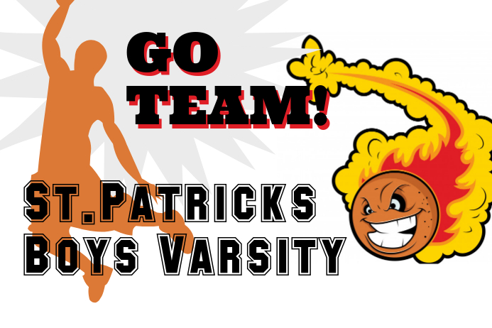 School Basketball Banner