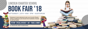 School Book Fair Banner Design