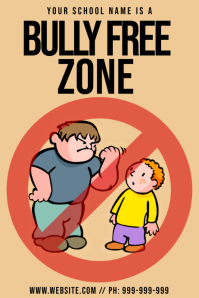 Create Anti Bullying Posters Online Postermywall