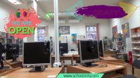 school Цифровой дисплей (16 : 9) template