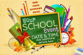 School Education Science Math Event Kid Chalk Supplies Party