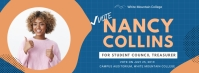 School Election Banner Design Template Facebook Cover Photo