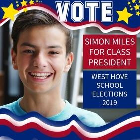 School Election Candidate Video Template