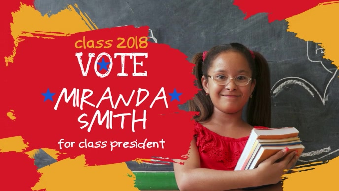 School Election Cover Video Template
