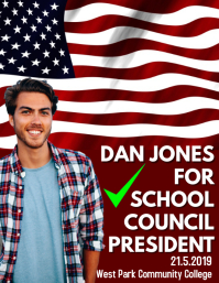 School ElectionCampaign Poster Template