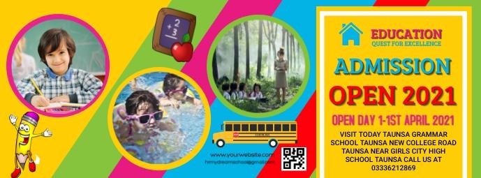 school Facebook Cover Photo template