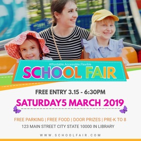 School Fair Online Invitation