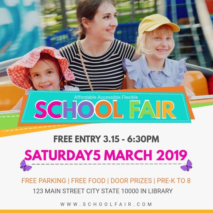 School Fair Online Invitation