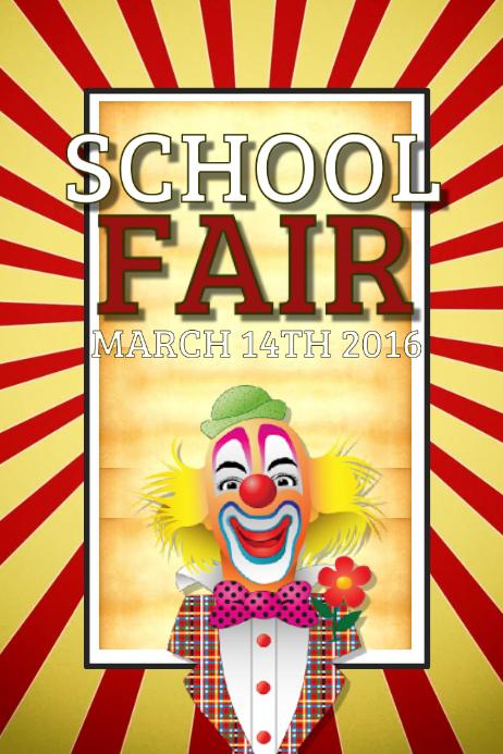 school fair template