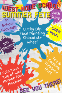 School Fete Poster Template