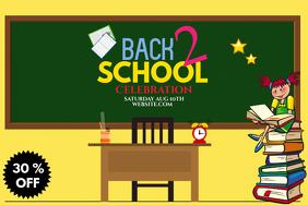 School flyer, Event flyer, Educational flyer