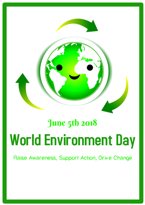 World Environment A4 template