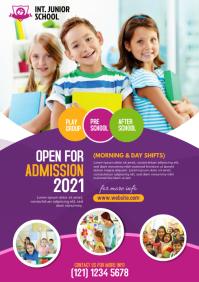 School Flyer Template | Admission Open