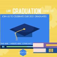 School Graduation Live Social Media Ad