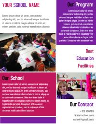 SCHOOL KIDS LEARNING CENTER TEMPLATE DESIGN