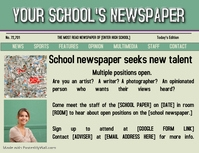 School newspaper recruitment