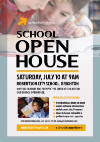 School Open House Flyer