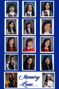 School Photos Collage Poster Template