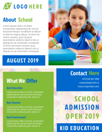 School Poster & Flyer Design Template