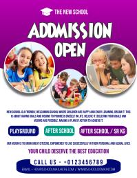 SCHOOL POSTER Flyer (US Letter) template