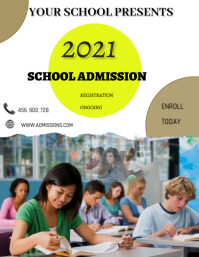 School Poster Løbeseddel (US Letter) template