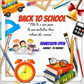 school posters template