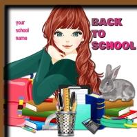 school posters Album Omslag template