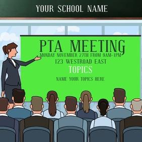 SCHOOL PTA MEETING TEMPLATE
