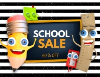 School sale Flyer (US Letter) template