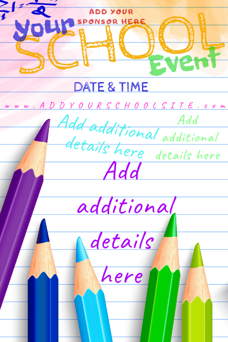 School Subject Science Math Supplies Event Paper Note