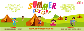 School Summer Camp Banner