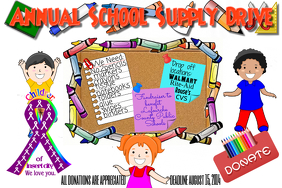 School Supply Event Children Flyer