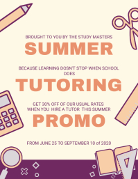 Free Customisable Tutor Flyer Templates Postermywall