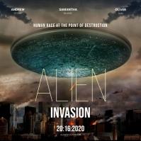 Sci Fi Movie Poster Template
