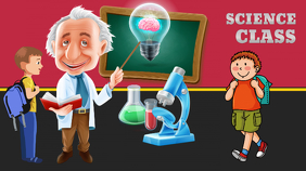 Science Google+ Cover Image template