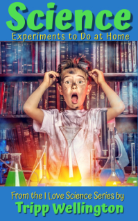 Science Experiments for Kids Sampul Buku template