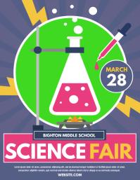 170 Science Fair Flyer Customizable Design Templates