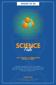 Science Fair Expo Flyer Template