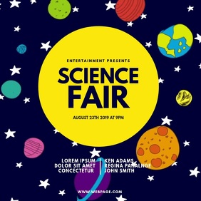 Science Fair Expo Video Design Template