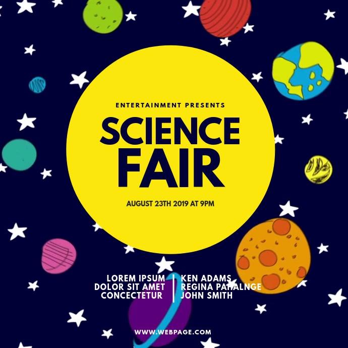 Science Fair Expo Video Design Template