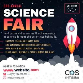 Science Fair Square Video
