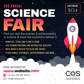Science Fair Square Video